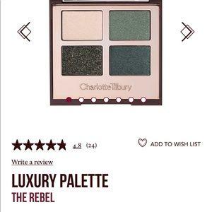 Charlotte Tilbury Makeup - Charlotte Tilbury Rebel eyeshadow palette